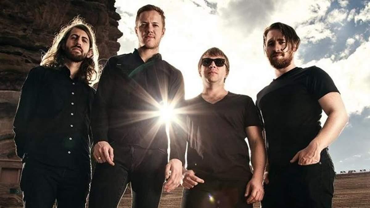 Imagine Dragons дадуть концерт у Києві
