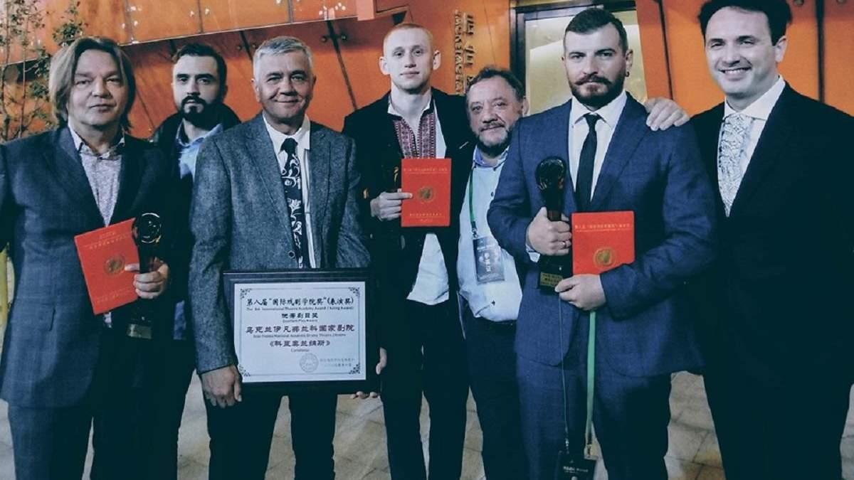 Театр Франко получил четыре награды в Китае