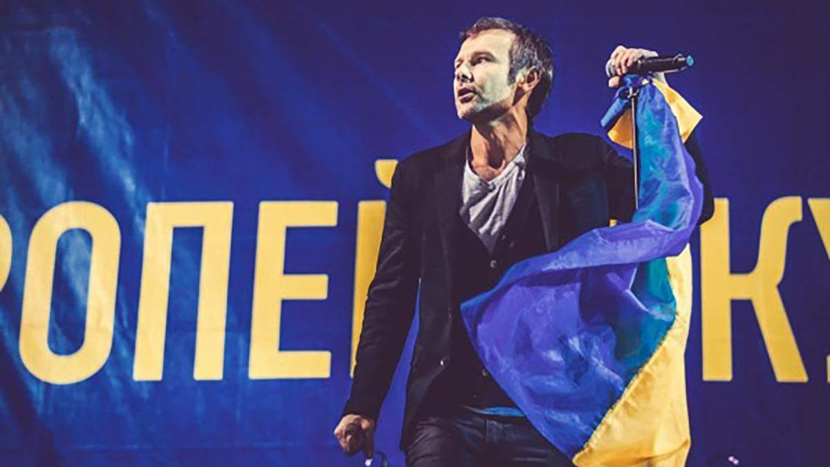 Святослав Вакарчук рассказал, как случайно зародилась идея сыграть концерт на Майдане 2013-го