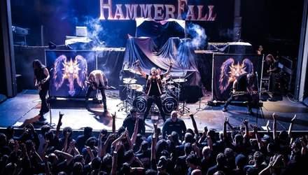 Концерт HammerFall у Києві переноситься через хворобу вокаліста – відео, подробиці