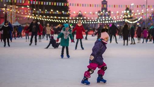 Зимняя страна на ВДНХ: куда пойти в Киеве на зимние праздники