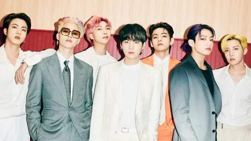 """K-pop гурт BTS дасть перший онлайн-концерт  у 2021 """"Permission To Dance On"""": дата та подробиці"""